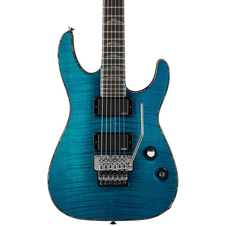 CharvelDesolation DX-1 FR Soloist Electric GuitarTransparent Blue