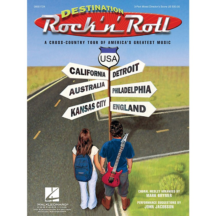 Hal LeonardDestination Rock 'n' Roll (Choral Revue) ShowTrax CD Arranged by Mark Brymer