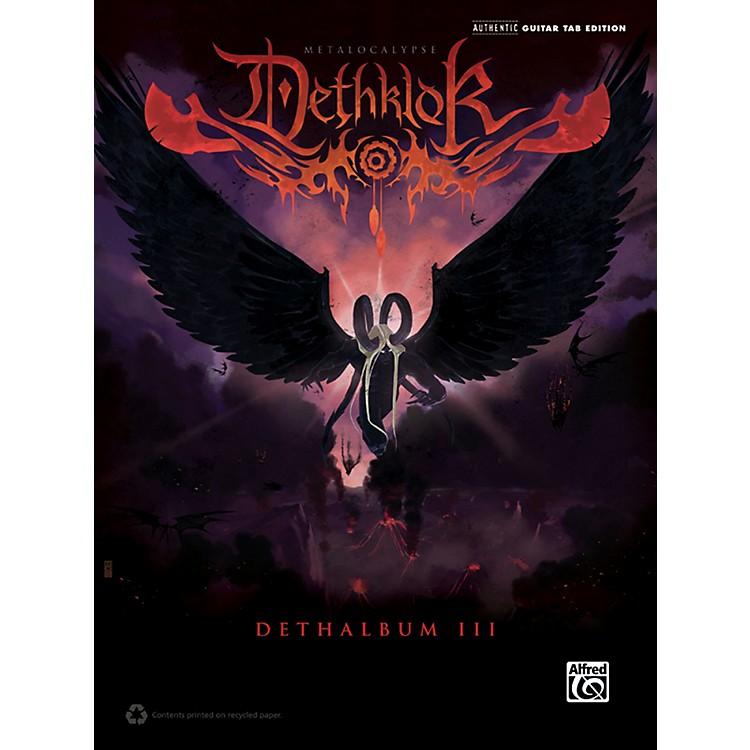 AlfredDethklok - Dethalbum III Guitar TAB Book