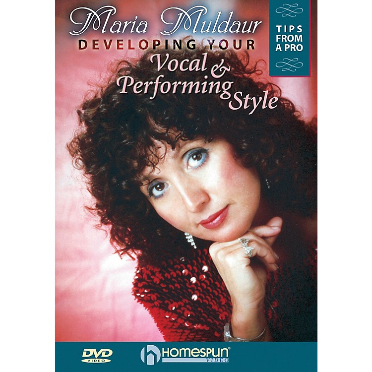 HomespunDeveloping Your Vocal and Performing Style Homespun Tapes Series DVD Performed by Maria Muldaur