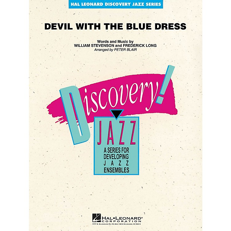 Hal LeonardDevil with the Blue Dress Jazz Band Level 1-2 Arranged by Peter Blair