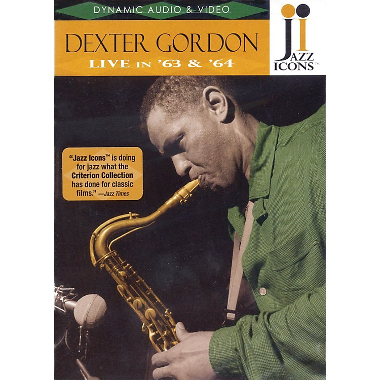 Jazz IconsDexter Gordon - Live in '63 and '64 Live/DVD Series DVD Performed by Dexter Gordon
