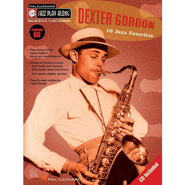 Hal Leonard Dexter Gordon (Jazz Play-Along Volume 60) Jazz Play Along Series Softcover with CD by Dexter Gordon