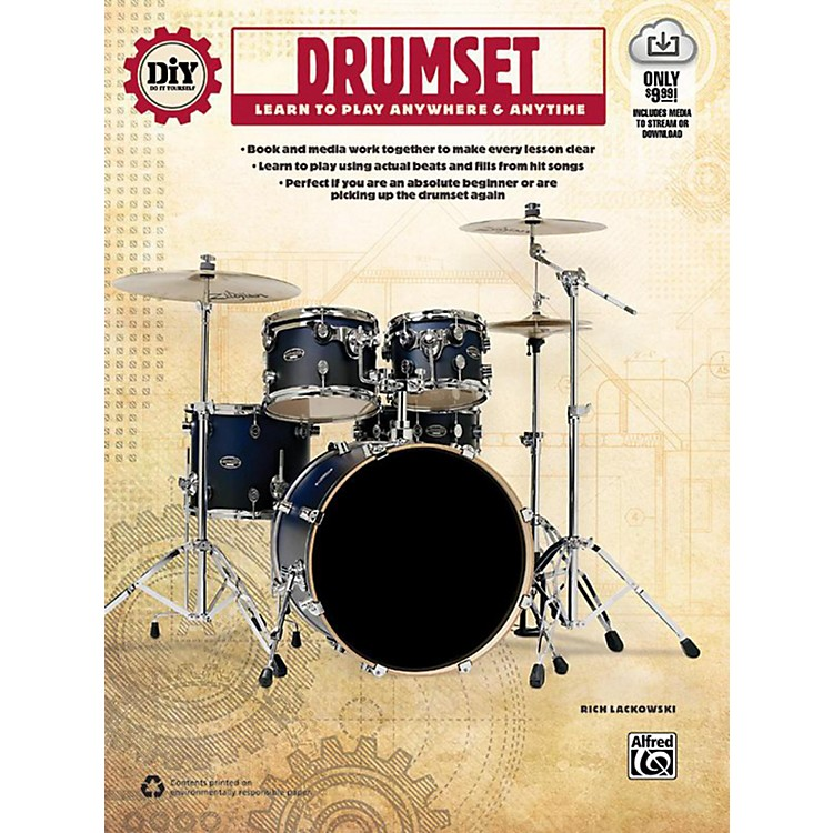 Alfred DiY (Do it Yourself) Drumset Book & Streaming Video