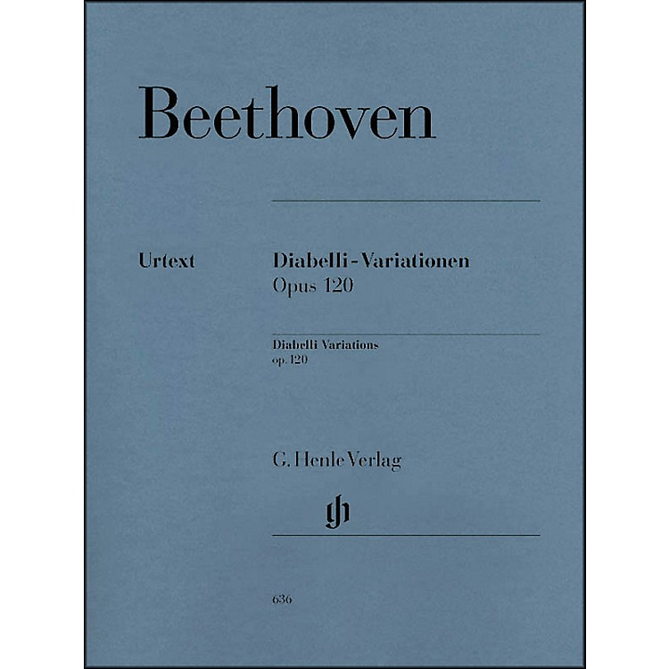 G. Henle VerlagDiabelli-Variations Op. 120 By Beethoven