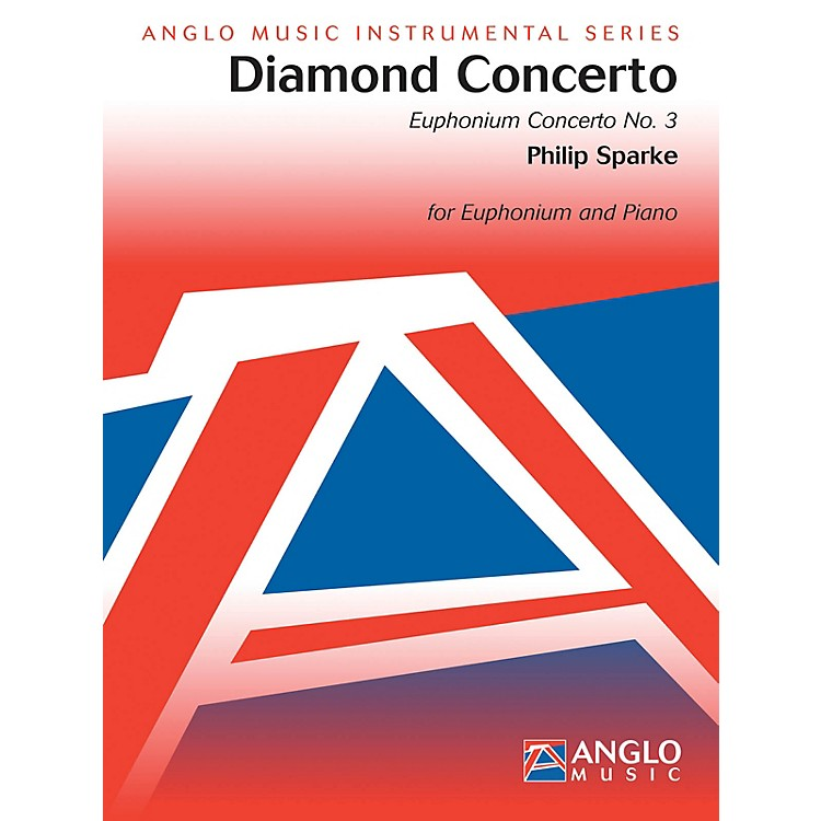 Anglo Music PressDiamond Concerto (Euphonium Concerto No. 3) (Score and Parts) Concert Band Composed by Philip Sparke