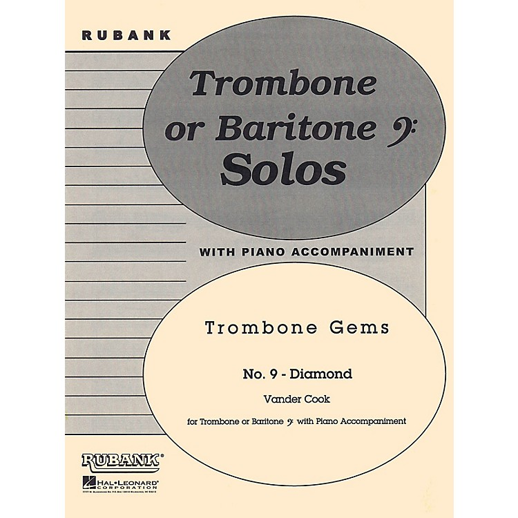 Rubank PublicationsDiamond (Trombone (Baritone B.C.) Solo with Piano - Grade 3) Rubank Solo/Ensemble Sheet Series