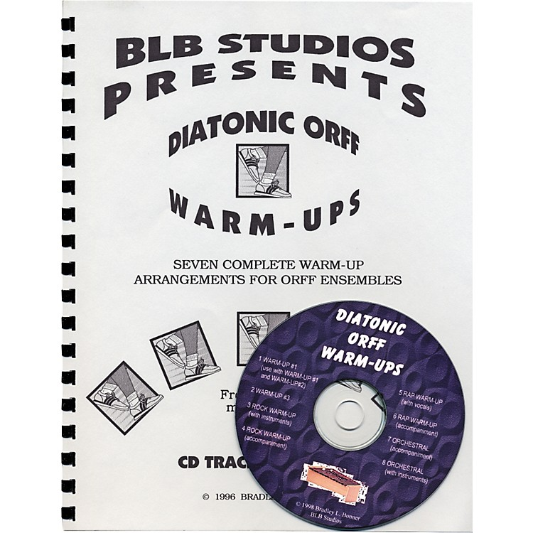 Rhythm Band Diatonic Orff Warm-Ups (Book/CD)