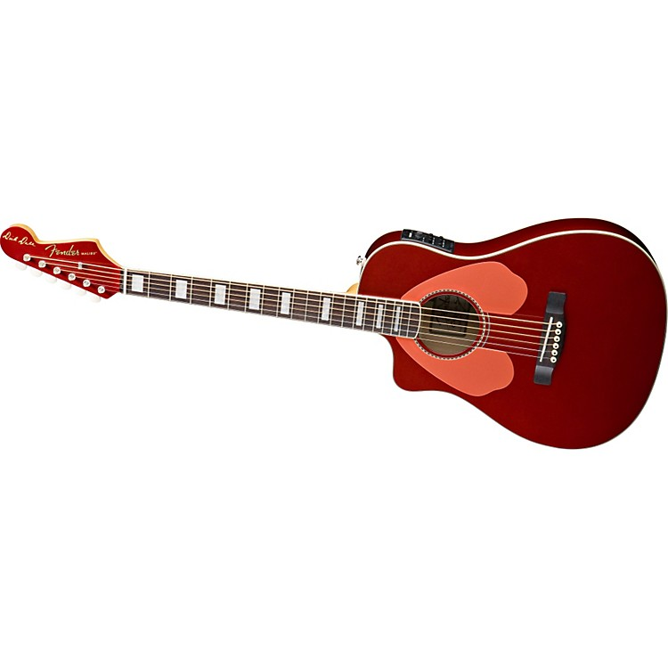 Fender Dick Dale Signature Malibu SCE Left-Handed Acoustic-Electric Guitar