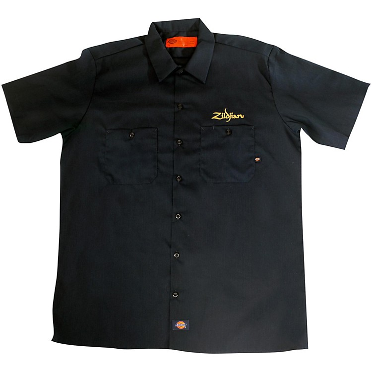 ZildjianDickies Work ShirtBlackXX-Large