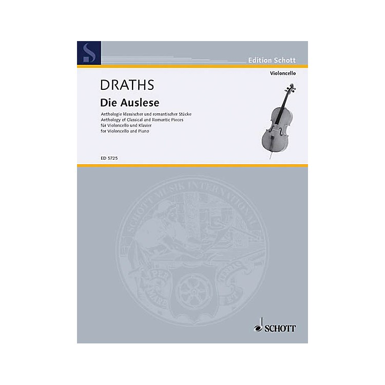 SchottDie Auslese (Anthology of Classical and Romantic Pieces) Schott Series Softcover