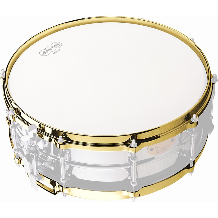LudwigDie-Cast Snare Drum Hoop BottomBrass14 Inches
