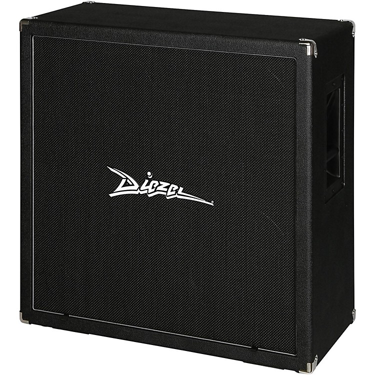 Diezel Diezel 412-FV 240W 4x12 Front-Loaded Guitar Amplifier Cabinet Black