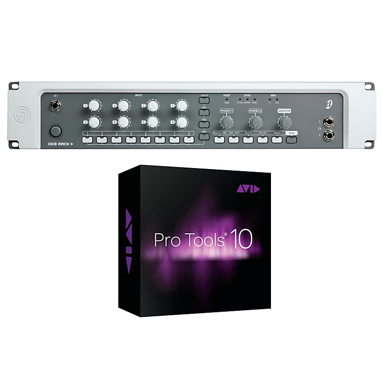 Digidesign Digi 003 Rack + Factory with Pro Tools 10