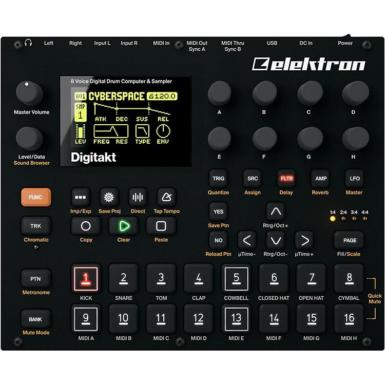 ElektronDigitakt 8-Voice Digital Drum Computer and Sampler