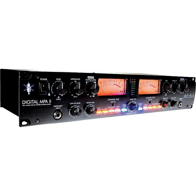 ARTDigital MPA-II 2-Channel Tube Microphone Preamp with A/D Conversion