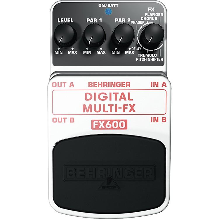 BehringerDigital Mulit-FX FX600 Guitar Multi-Effects Pedal