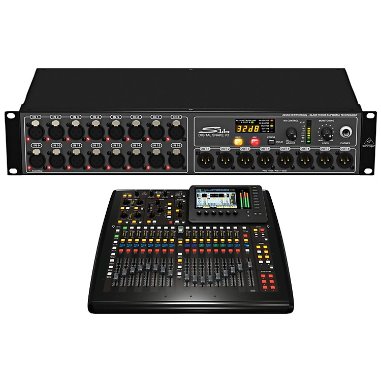 Behringer Digital Snake and Compact Mixer Package