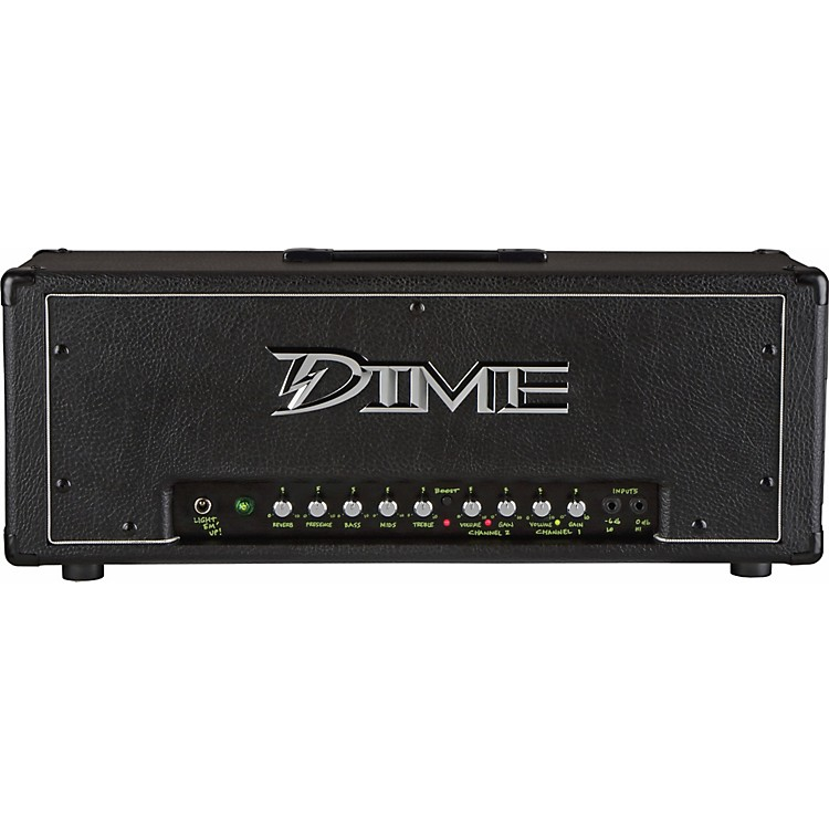Dime Amplification Dimebag D100 120W Guitar Amp Head Black