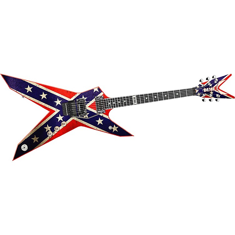 Dean Dimebag Dixie Rebel Electric Guitar