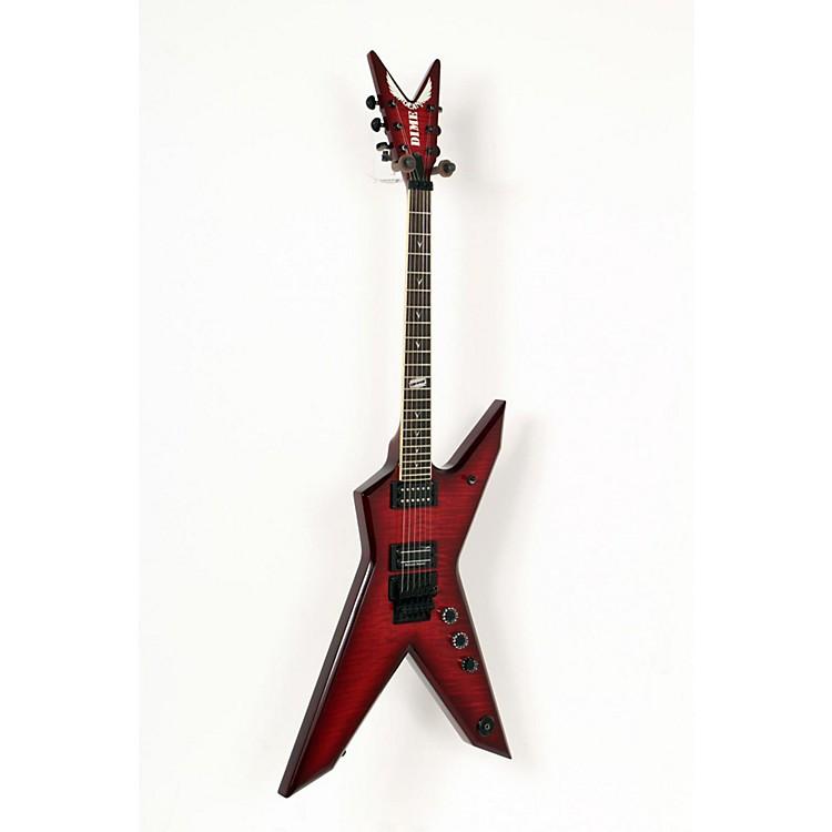 DeanDimebag Rebel Flametop Electric GuitarTransparent Red888365556758