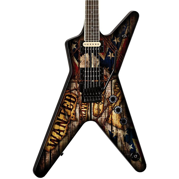 dean dimebag wanted ml electric guitar music123. Black Bedroom Furniture Sets. Home Design Ideas