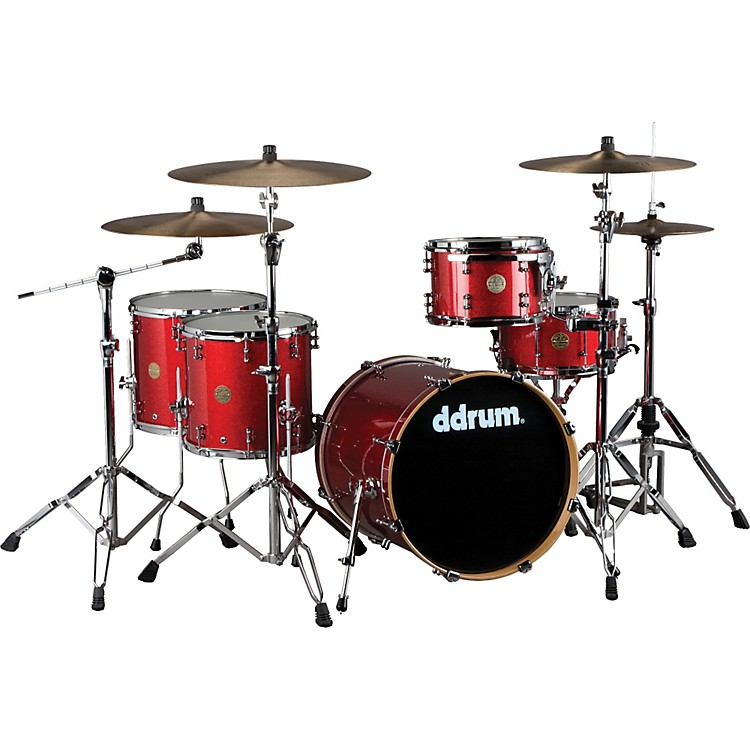 Ddrum Dios Maple 5-Piece Shell Pack Cherry Sparkle