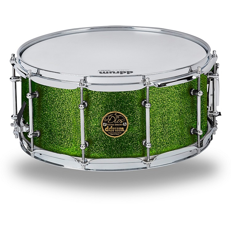 Ddrum Dios Maple Snare 14 x 6.5 in. Emerald Green