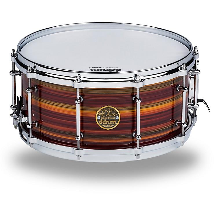DdrumDios Maple Striped Lacquer Snare Drum14 x 6.5 in.Natural Maple Lacquer