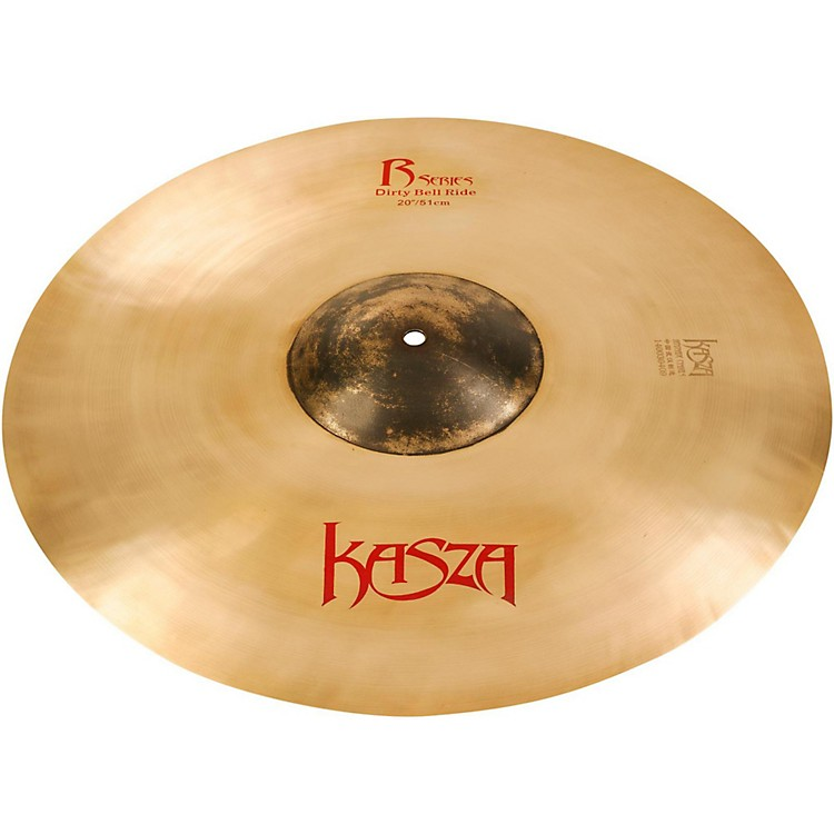 Kasza Cymbals Dirty Bell Rock Ride Cymbal 20 in.