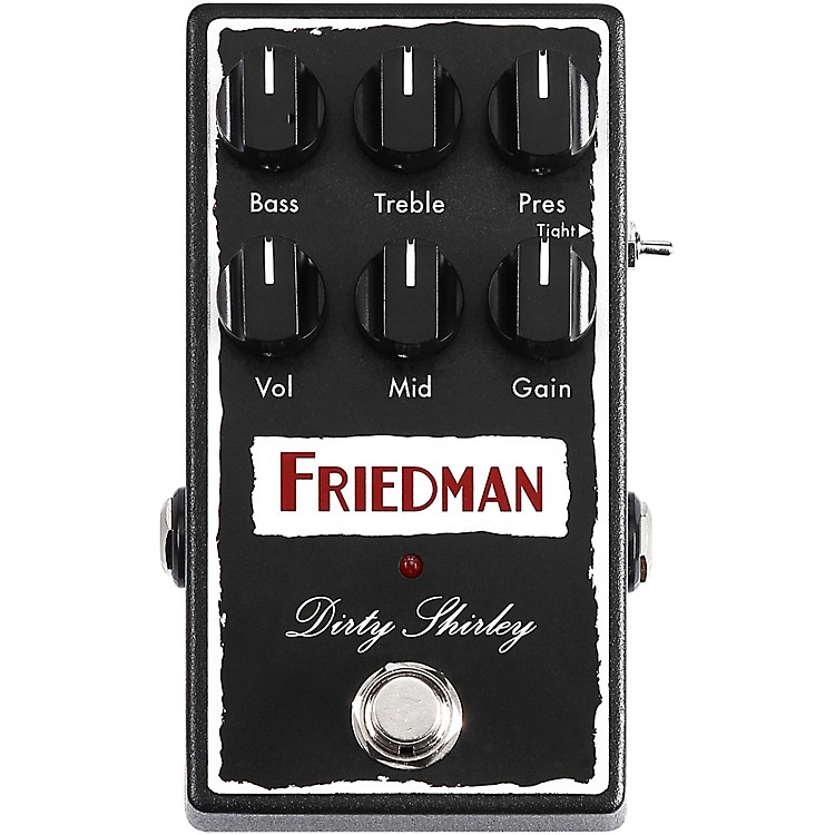 Friedman Dirty Shirley Overdrive Effects Pedal
