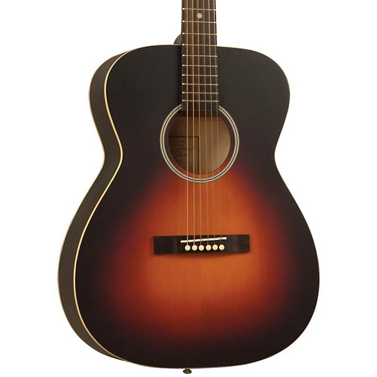 Recording King Dirty Thirties OOO Solid Top Satin Sunburst