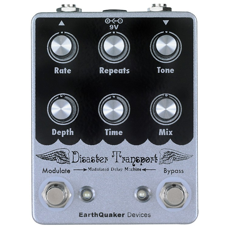 EarthQuaker Devices Disaster Transport Modulated Delay Guitar Effects Pedal