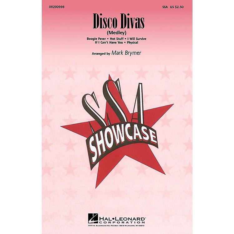 Hal LeonardDisco Divas (Medley) ShowTrax CD Arranged by Mark Brymer