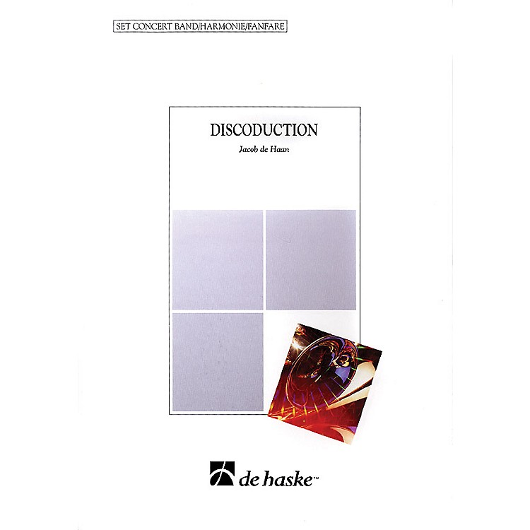De Haske Music Discoduction (Score & Parts) Concert Band Level 5 Arranged by Jacob de Haan