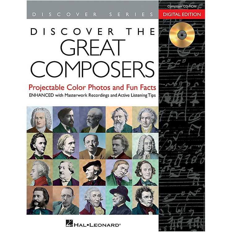 Hal Leonard Discover The Great Composers: Digital W/Recordings CD-ROM
