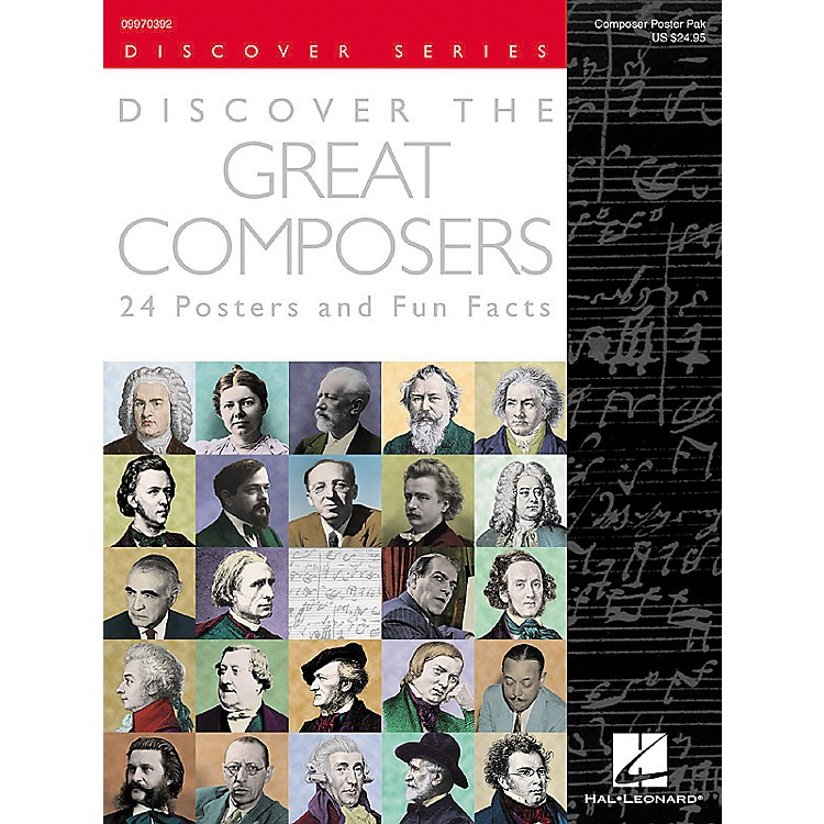 Hal LeonardDiscover the Great Composers Posters