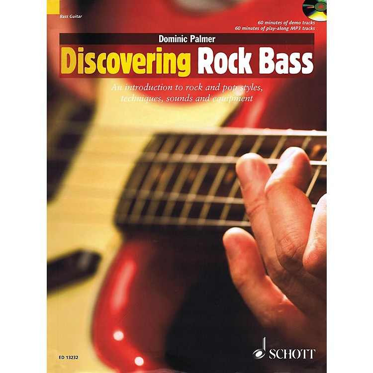 SchottDiscovering Rock Bass Guitar Series Softcover with CD Written by Dominic Palmer