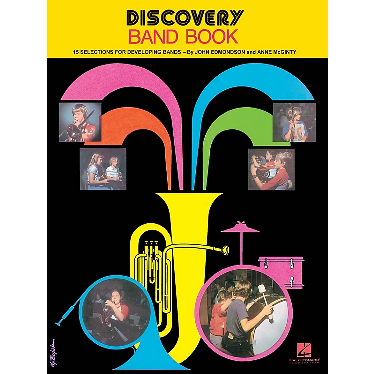 Hal LeonardDiscovery Band Book #1 (2nd Cornet/Trumpet) Concert Band Composed by Anne McGinty