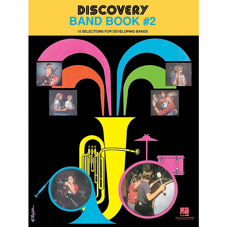 Hal Leonard Discovery Band Book #2 (E Flat Alto Saxophone) Concert Band Level 1 Composed by Anne McGinty