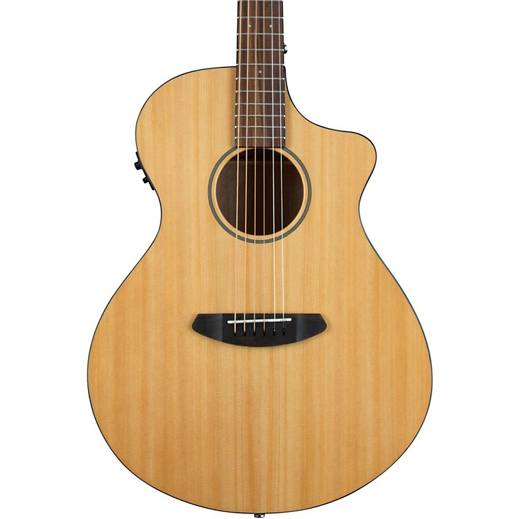 Breedlove Discovery Concert Cutaway Acoustic-Electric Guitar Natural