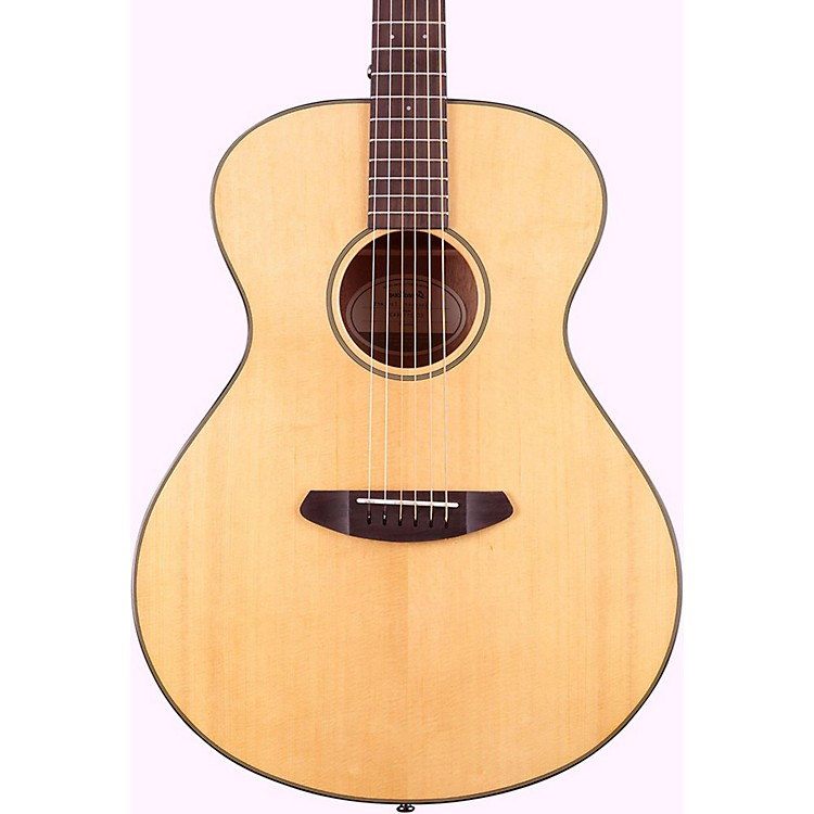 Breedlove Discovery Concert Left Handed Acoustic Guitar Natural