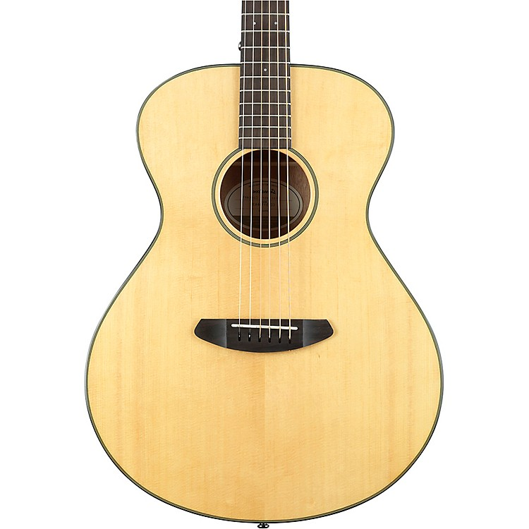 Breedlove Discovery Concert Sitka Spruce - Mahogany Left-Handed Acoustic Guitar High Gloss Natural