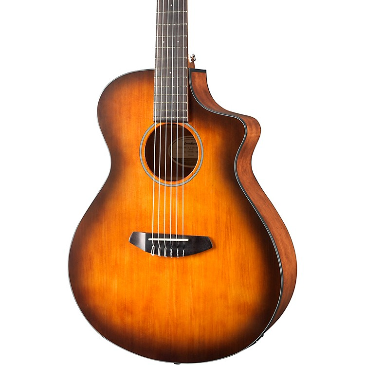 Breedlove Discovery Concert with Englemann Spruce Top Nylon String Acoustic-Electric Guitar Satin Sunburst