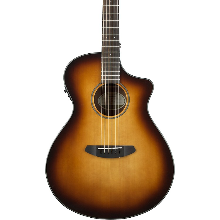 Breedlove Discovery Concert with Sitka Spruce Top Sunburst Acoustic-Electric Guitar Gloss Sunburst