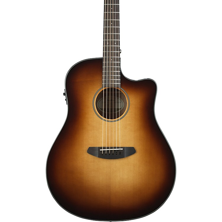 Breedlove Discovery Dreadnought with Spruce Top Sunburst Acoustic-Electric Guitar Gloss Sunburst