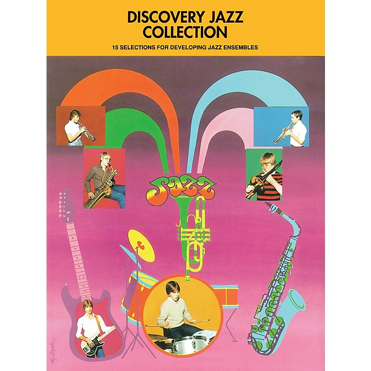 Hal Leonard Discovery Jazz Collection - Alto Sax 1 Jazz Band Level 1-2 Composed by Various