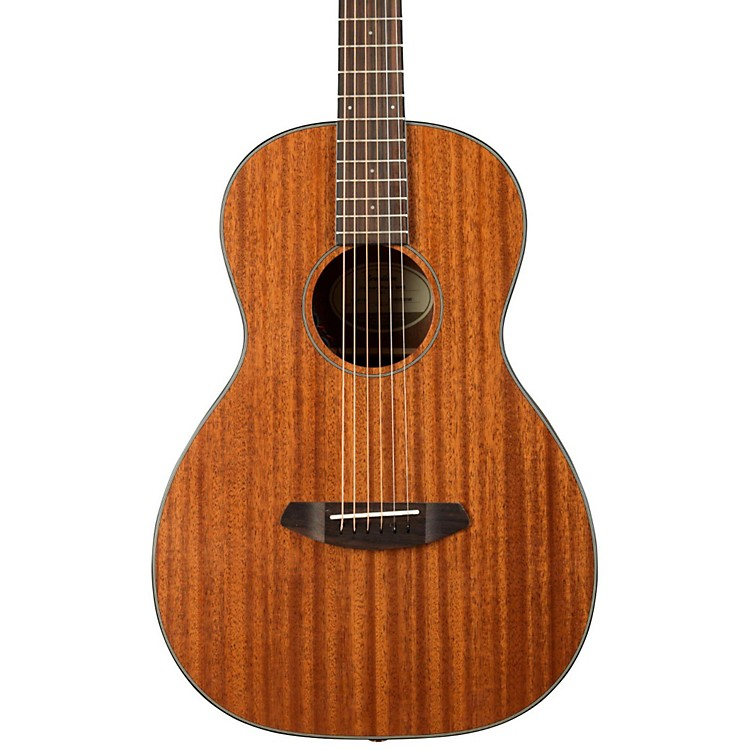 Breedlove Discovery Parlor Mhse Acoustic-Electric Guitar Natural