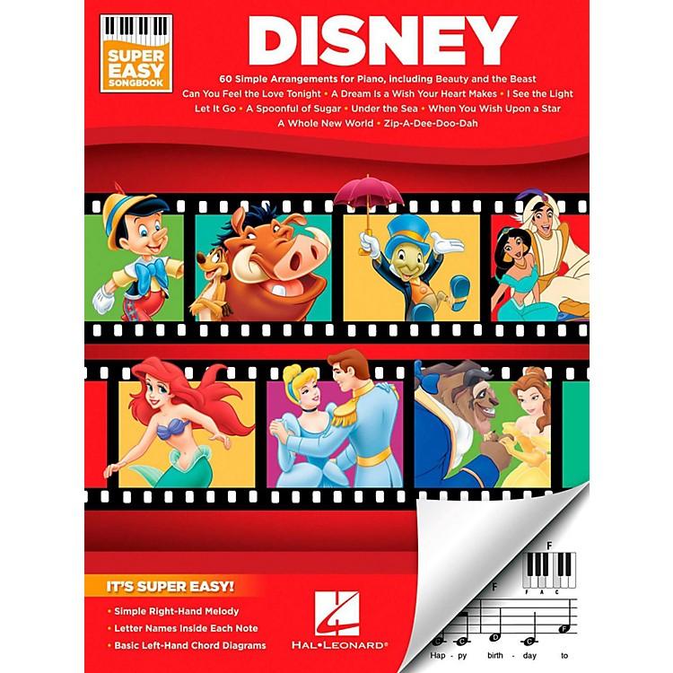 Hal LeonardDisney - Super Easy Songbook