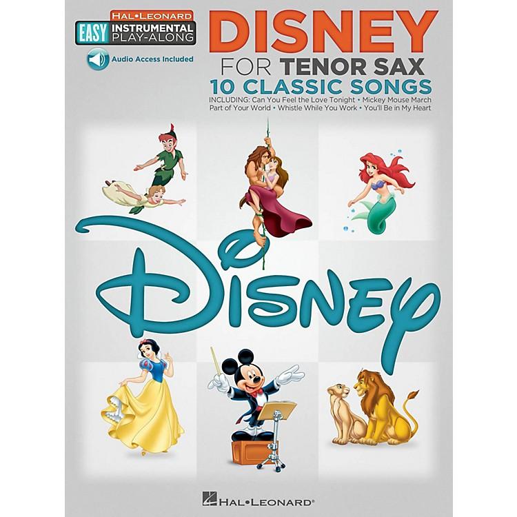 Hal LeonardDisney - Tenor Sax - Easy Instrumental Play-Along Book with Online Audio Tracks